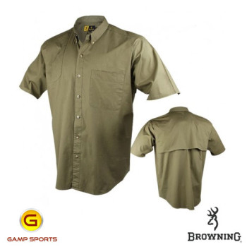 Browning-Shooter-Shirt-Short-Sleeve-Olive-Gamp-Sports