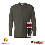 Mens-Henley-Shooting-Shirt w- ShockEater Recoil Pad