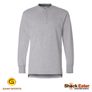 ShockEater Henley-Shooting-Shirts: Gamp Sports