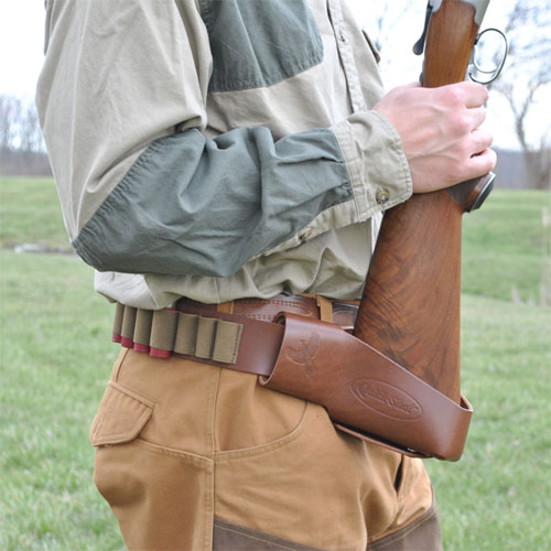 Quick-Shot-Leather-Holster- Gamp Sports