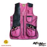 MizMac-Womens-Perfect-Fit-Mesh Vest - Hot Pink - Gamp Sports