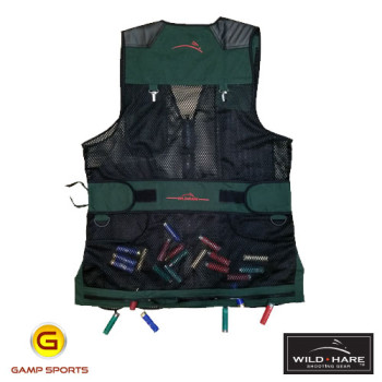 Wild-Hare-Classy-Clays-Mesh-Shooting-Vest-Back: Gamp Sports