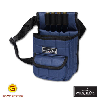 Wild-Hare-Deluxe-Divided-Shell-Pouch-Navy - Gamp Sports