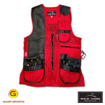 Wild-Hare-Classy-Clays-Vest-Red : Gamp Sports