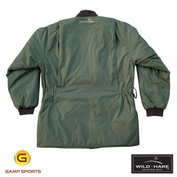 Wild-Hare-Cold-Weather-Coat-Olive-Back: Gamp Sports