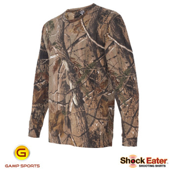 Mens-ShockEater-RealTree-Long-Sleeve-Shooting-Shirt-AP: Gamp Sports