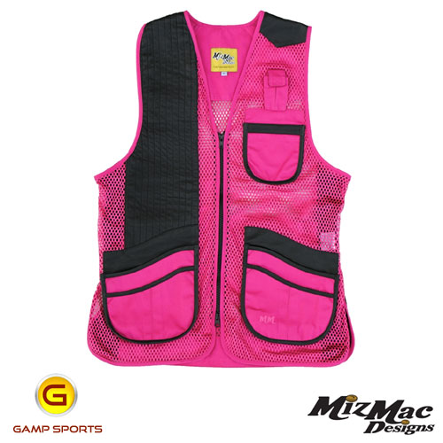 MizMac-Womens-Perfect-Fit-Mesh-Vest-Pink: Gamp Sports