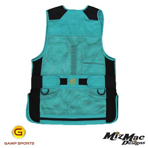 MizMac-Womens-Perfect-Fit-Mesh-Vest-Turquoise: Gamp Sports