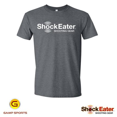 Spiderwire Logo Design T Shirt Size Medium Polyester: ShockEater Shooting Gear Logo T-Shirt