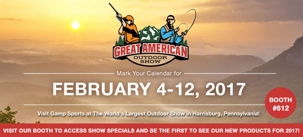 2017-Great-American-Outdoor-Show: Gamp Sports