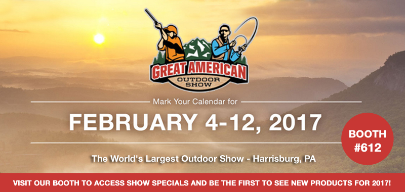 Gamp Sports at 2017 Great American Outdoor Show