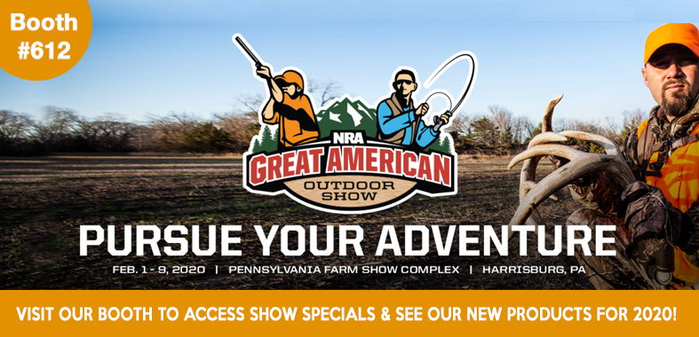 Visit Gamp Sports at the 2020 Great American Outdoor Show