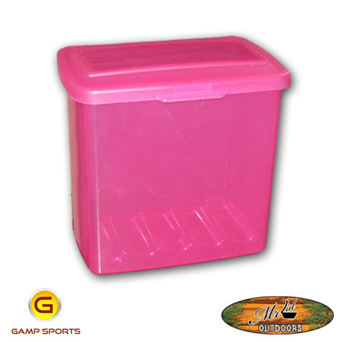 Mr.-Lid-Pink-Shotshell-Container: Gamp Sports