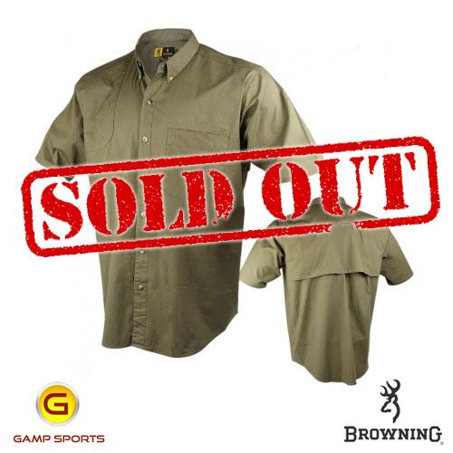 Browning-Shooter-Shirt-Short-Sleeve-Olive-SO : Gamp Sports