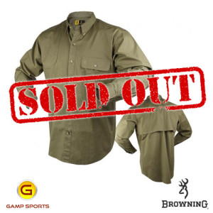 Browning-Shooter-Shirt-Long-Sleeve-Olive: Gamp Sports
