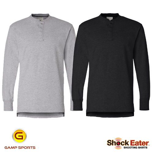 ShockEater-Henley-Shooting-Shirt-Colors: Gamp Sports