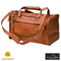 Wild-Hare-Leather--Duffle-Bag-Dusk: Gamp Sports