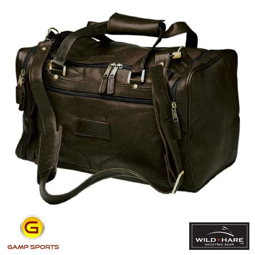 Wild-Hare-Leather--Duffle-Bag-Java: Gamp Sports