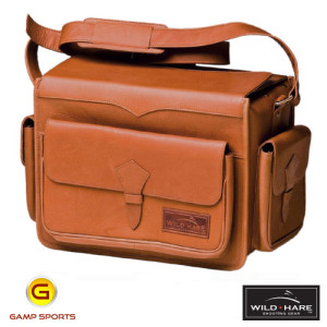 Wild-Hare-Leather-Range-Bag-Dusk: Gamp Sports