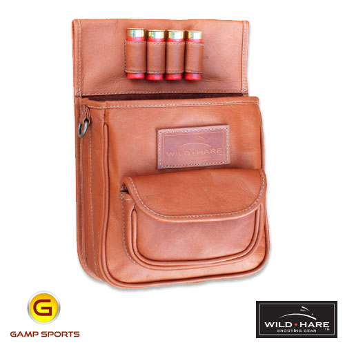 Wild-Hare-Leather-Deluxe-Shotshell-Pouch : Gamp Sports