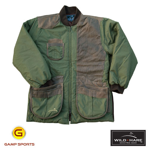 Wild-Hare-Cold-Weather-Coat-Olive-LH: Gamp Sports