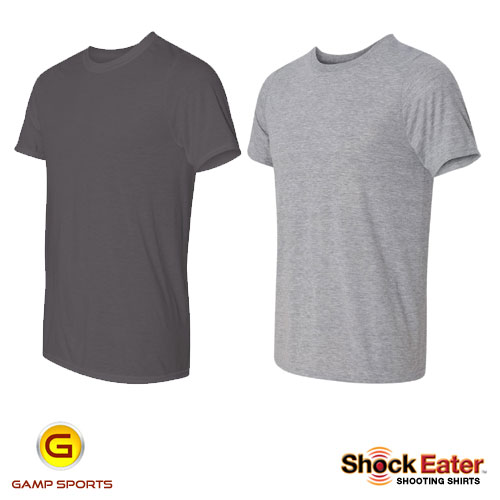 Mens ShockEater Moisture Wicking Performance Shooting Shirts: Gamp Sports