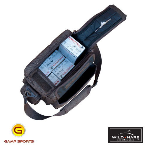 Wild-Hare-Premium-Sporting-Clays-Bag-Open: Gamp Sports