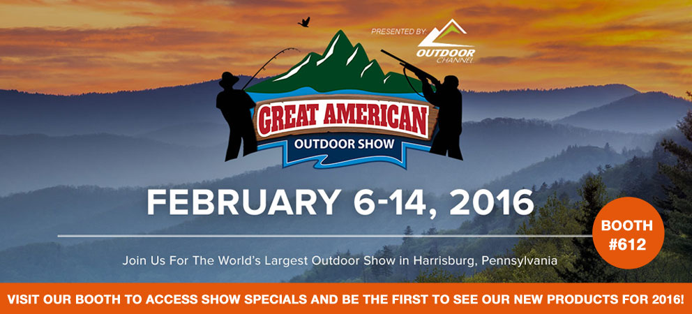 2016GreatAmericanOutdoorShow: Gamp Sports
