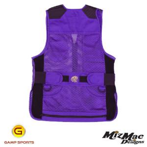 MizMac-Womens-Perfect-Fit-Mesh-Vest-Purple: Gamp Sports