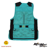 MizMac-Womens-Perfect-Fit-Mesh-Vest-Turquoise: Gamp Sports