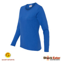 Womens-Long-Sleeve-Shooting-Shirt: Gamp Sports