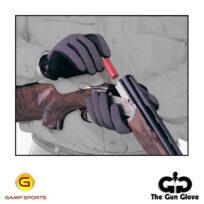 Gun-Glove-Summer-Weight-Grey-Black: Gamp Sports