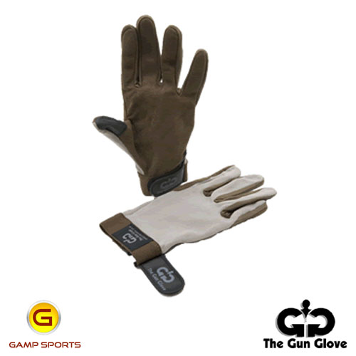 Gun-Glove-Summer-Weight-Beige-Brown: Gamp Sports