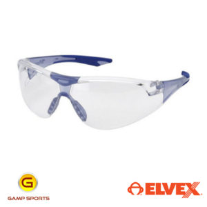 Elvex Mens Ballistic Shooting Glasses: Blue: Gamp Sports