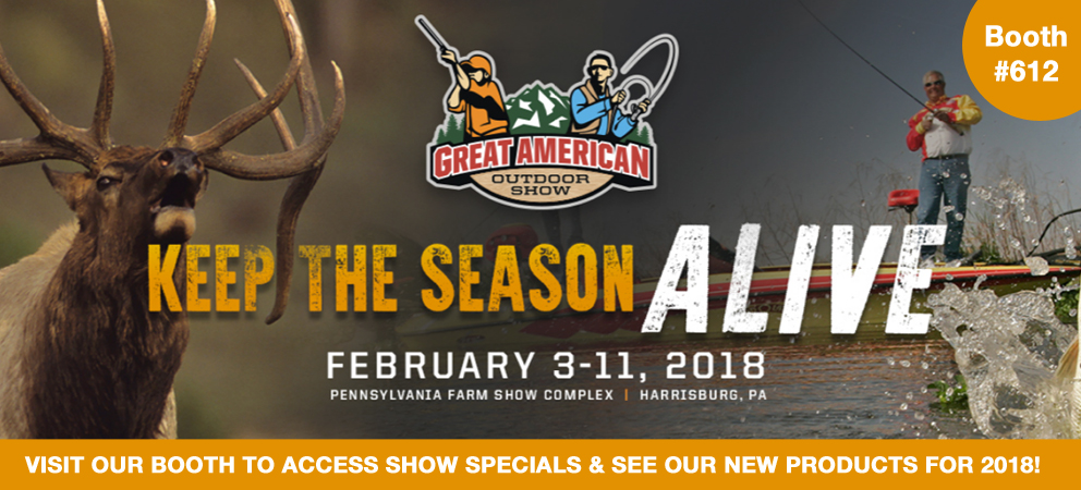 2018 Great American Outdoor Show: Gamp Sports