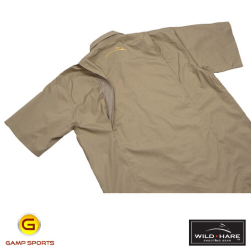 Wild Hare Shooting Shirt Khaki: Gamp Sports