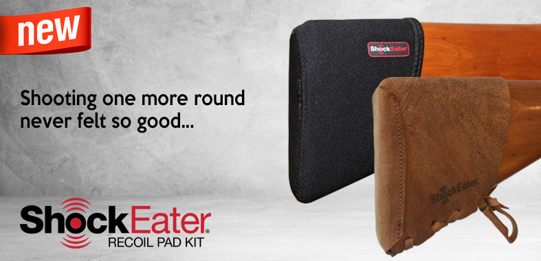 ShockEater Recoil Pad Kit - NOW AVAILABLE!